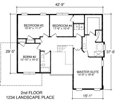 Professional accurate square footage measurements nc for Blueprint of a house with measurements